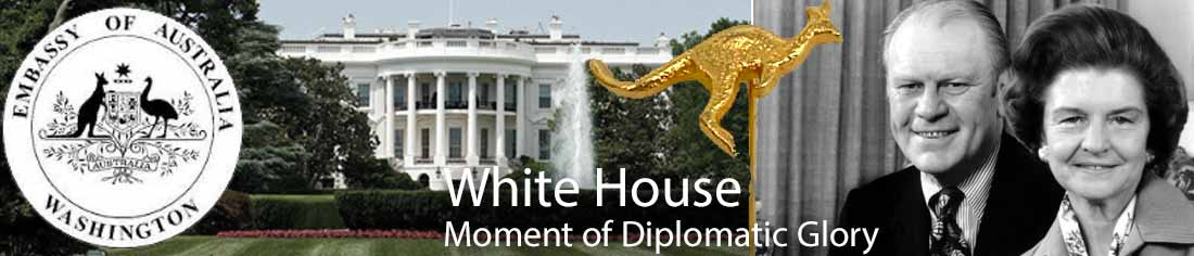 White House moment of diplomatic glory