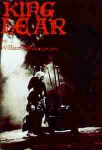KING LEAR 1978 QTC Brisbane Program Cover
