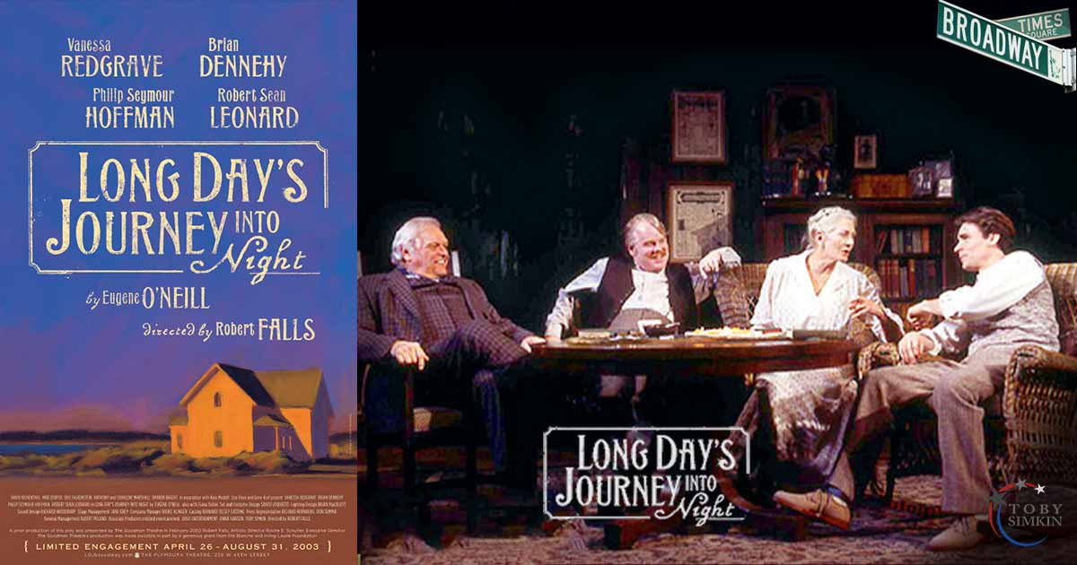 Long Days Journey Into Night on Broadway
