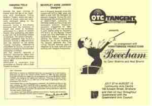 Beecham (QTC Brisbane) [Program]
