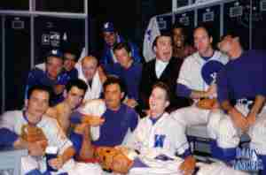 DAMN YANKEES 1988 Toronto photo Backstage On Set Baseballers 02