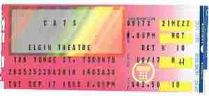 Cats Canada ticket Elgin