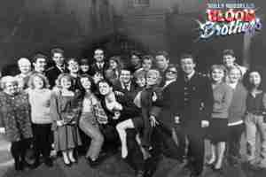 Willy Russell's Blood Brothers musical at the Liverpool Playhouse starring Stephanie Lawrence, Warwick Evans, Con O'Neill & Mark Hutchinson, prior to Toronto & Broadway | Liverpool Photo Company Pose