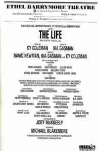 LIFE 1997 Broadway playbill billing