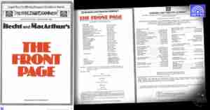 The Queensland Theatre Company production of The Front Page (QTC, Brisbane)