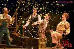 Tom Sawyer 2001 Broadway photo scene 2