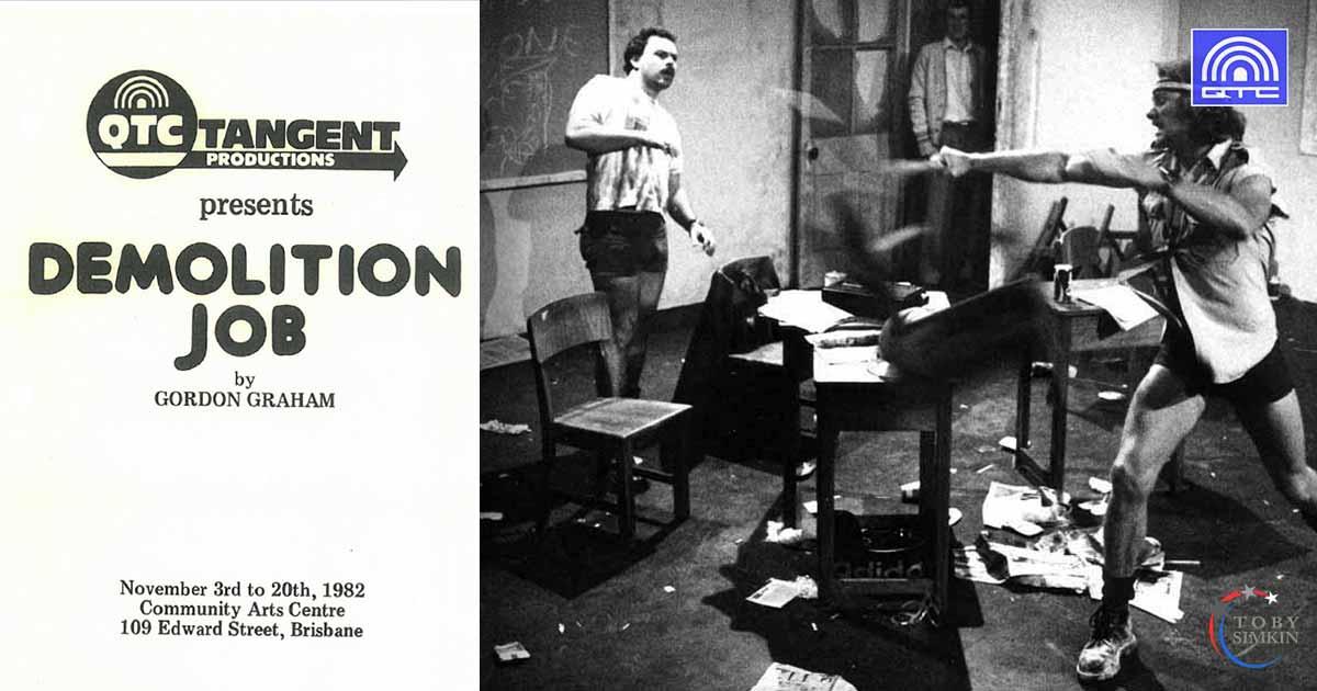 Queensland Theatre Company Demolition Job QTC