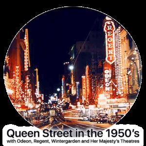 Queen Street in the 1950s