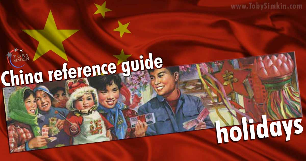 China Guide holidays