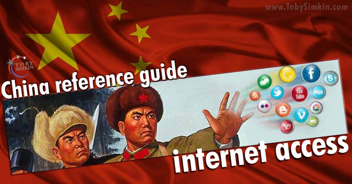 China Guide internet access