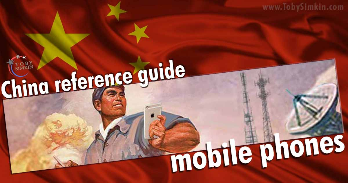 China Guide mobile phones