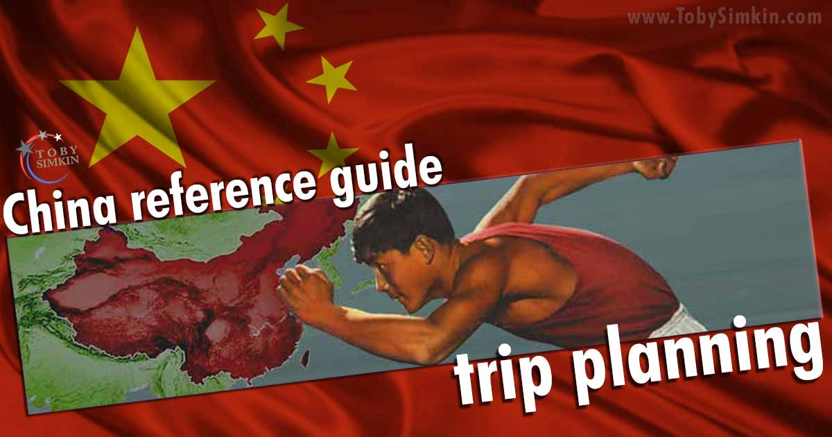 China Guide trip planning