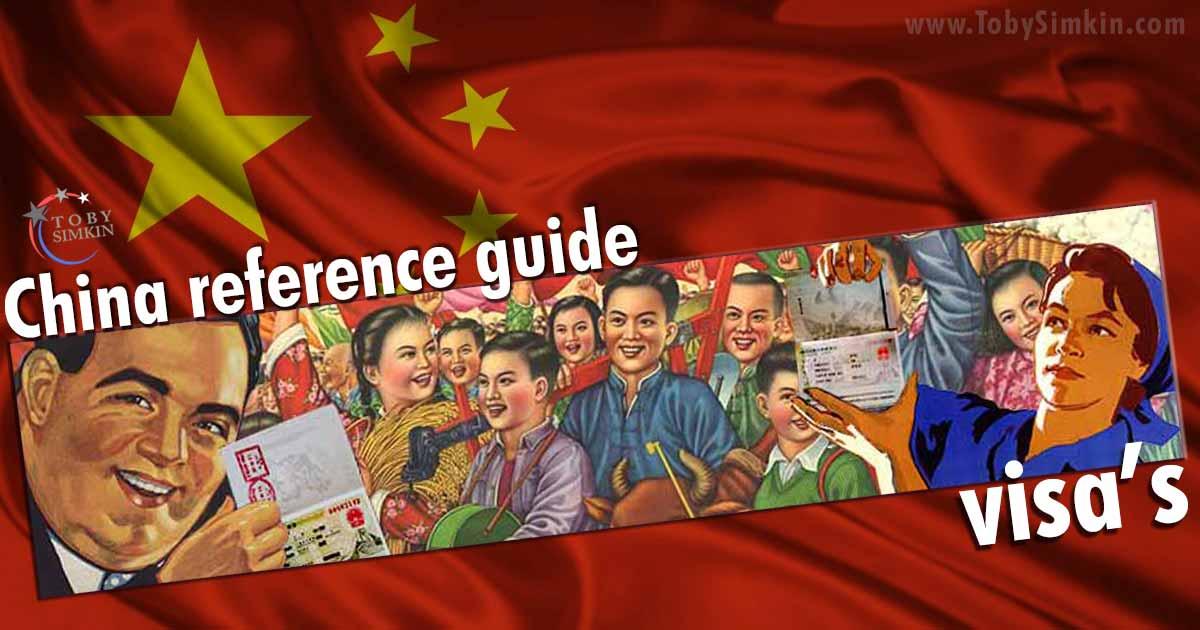 China Guide visa