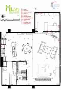 HiLoft Floor Plan
