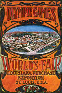 1904 Olympic Poster St Louis