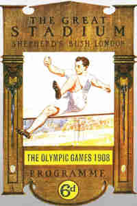 1908 Olympic Poster London
