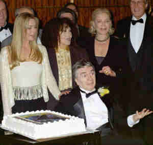 Bo Derek, Cleo Lane, Lauren Bacall and Chevy Chase at Dudley Moore, A Man For All Seasons tribute gala at Carnegie Hall
