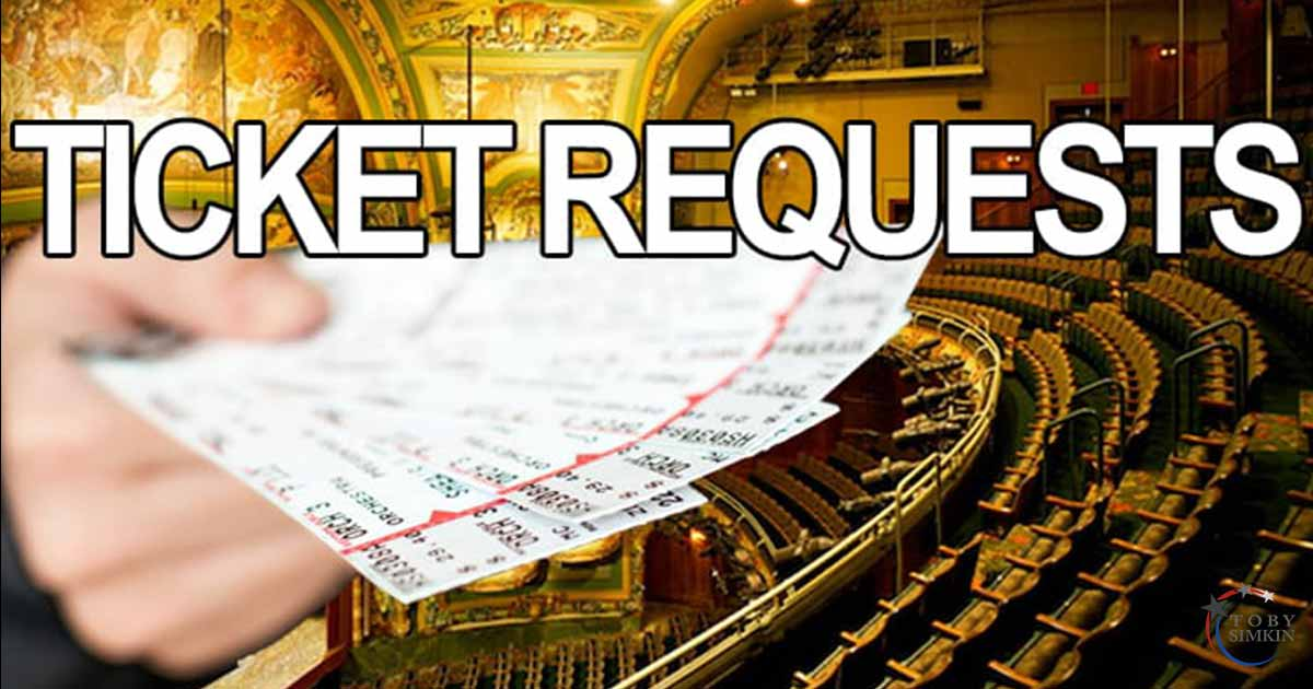 Broadway & West End Free Tickets Requests