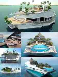 Retirement Private Island Yacht Examples
