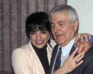 John Kander & Liza Minnelli in 1997 at New Dramatists luncheon