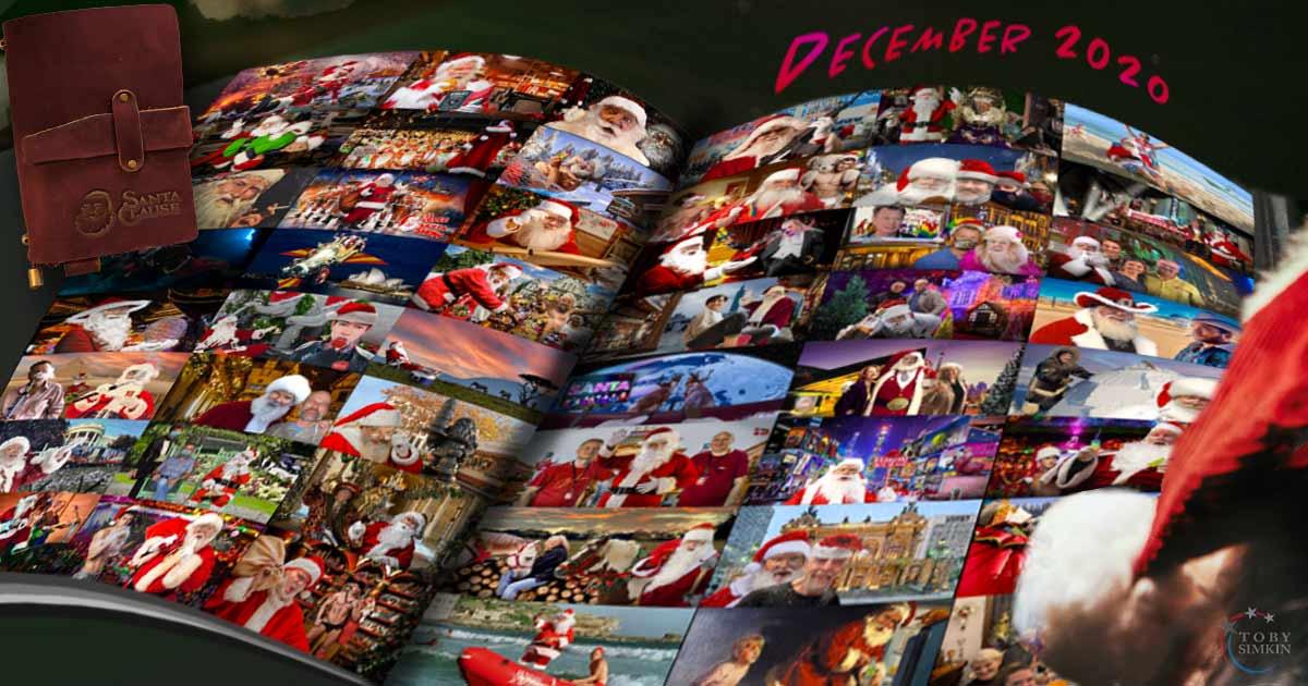 Santa 2020 diary montage