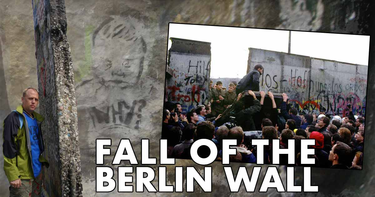 The Fall of the Berlin Wall anniversary
