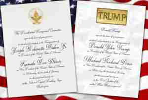 dueling inaugurations