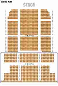 The Majestic Theatre (Shanghai) Seating Plan