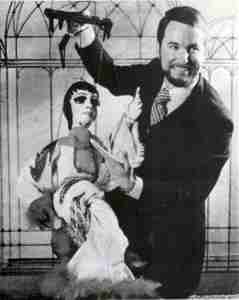 A Litte Bit of Broadway (1981 QLD Marionette Theatre - Twelfth Night - Sept 8-19) Philip Edmiston with Liza
