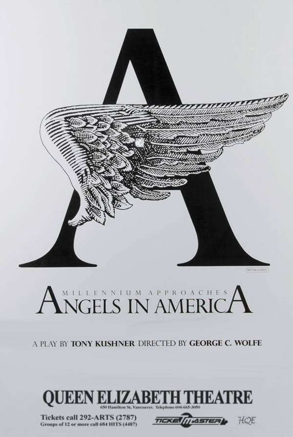 Angels in America Vancouver Poster
