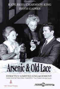 Arsenic and Old Lace 1988 Toronto Poster