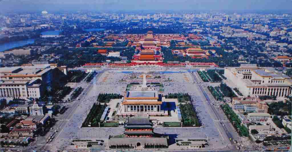 Tiananmen Square Aerial View