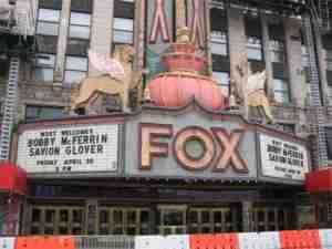 Bobby McFerrin Savion Glover Tour Detroit Fox Theatre Marquee