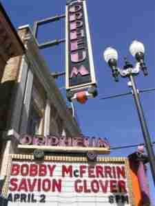 Bobby McFerrin Savion Glover Tour Minneapolis Marquee