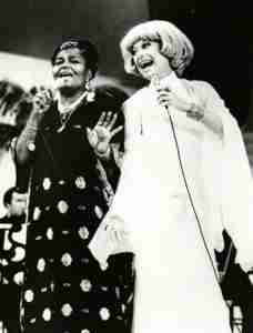 Carol Channing performing with Pearl Bailey 1973 on CBS Television