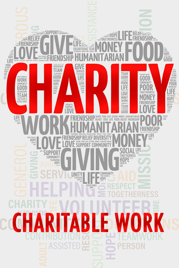 Charitable Work Charity Poster