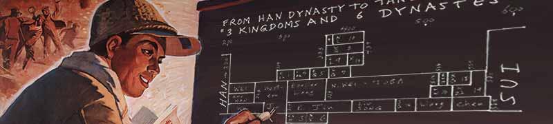 China guide head dynasties