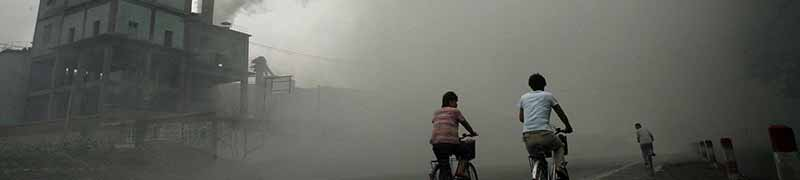 China guide pollution wide