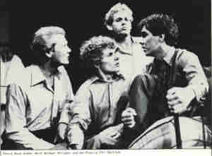 Choir (1981 TN Theatre Co Brisbane) [Photo] Reed, Rush, McCaffrey & Porter
