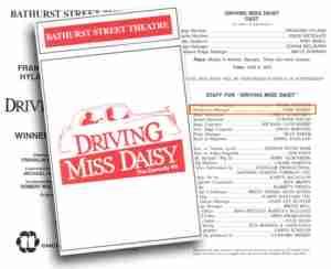 Driving Miss Daisy (Toronto)