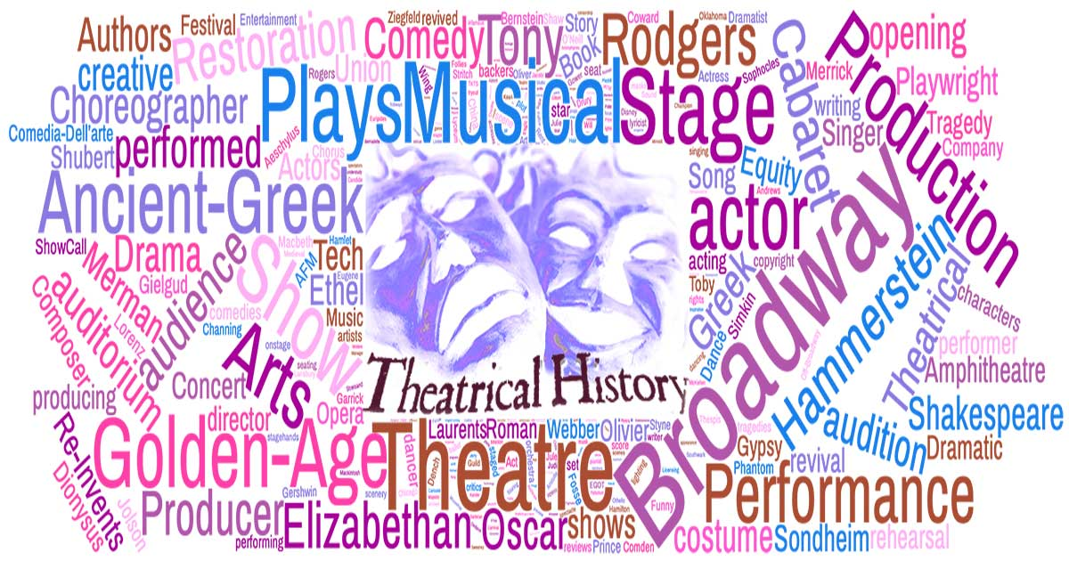 Theatrical history