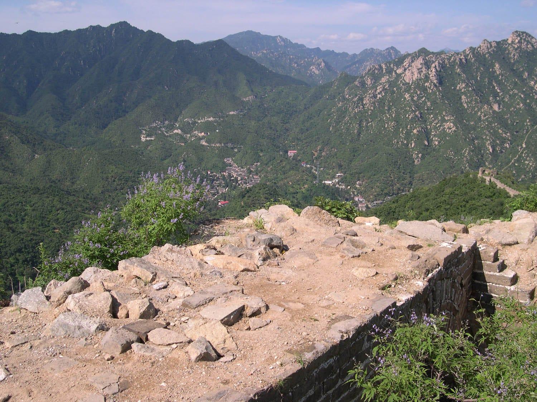 Great Wall at Mutianyu Original Sections