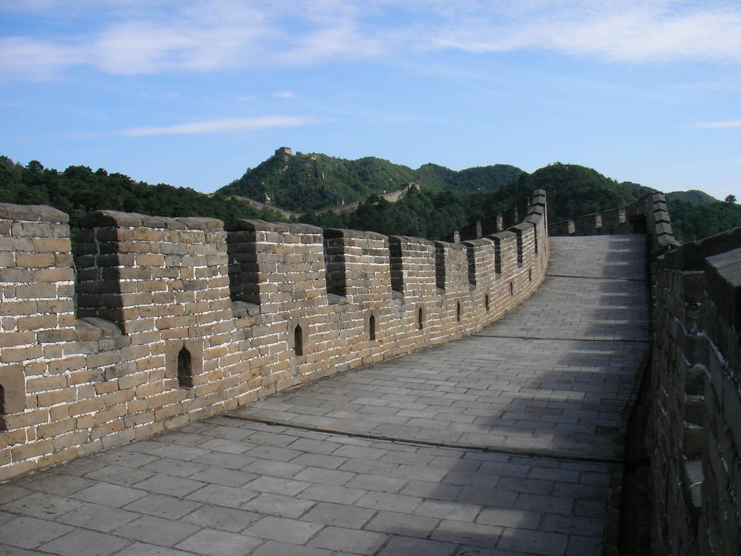 Great Wall at Mutianyu private and tranquil