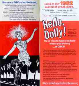 Hello, Dolly! (QTC Brisbane) Flyer