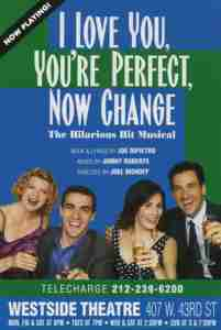 I Love You Your Perfect Now Change New York Poster
