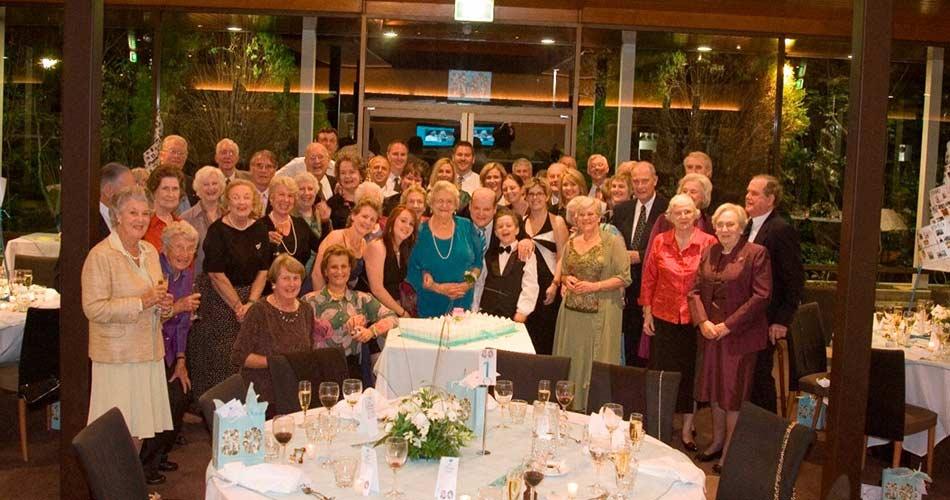 Irene Simkin 80th Birthday Group
