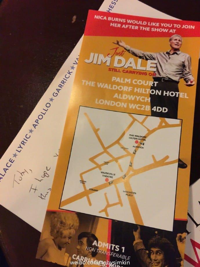 Jim Dale Tickets
