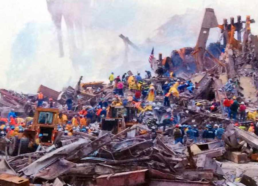 NYC WTC 911 pit outside office.jpg