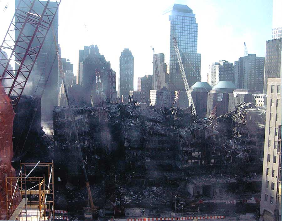 NYC WTC 911 view