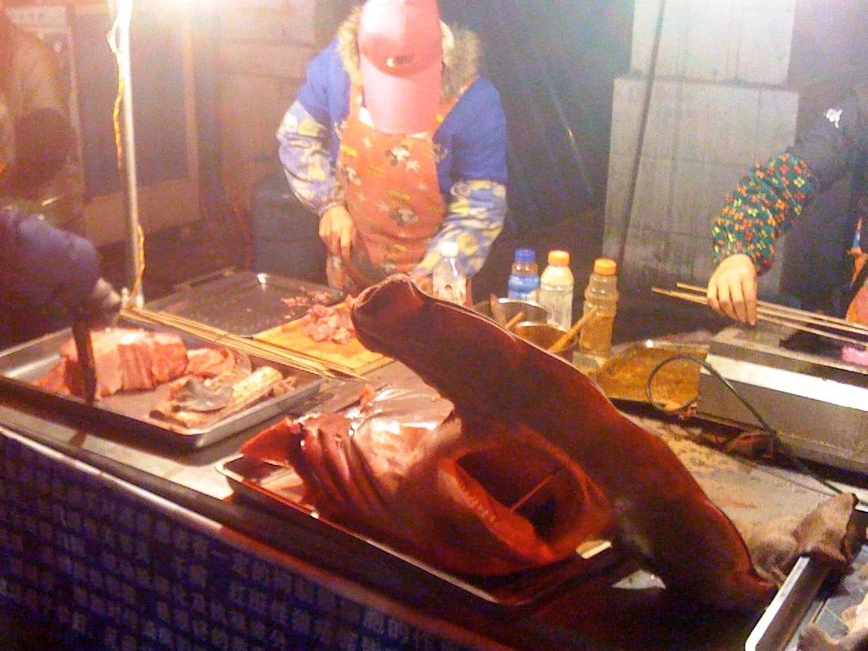 Nanning Food Street Hammerhead Shark